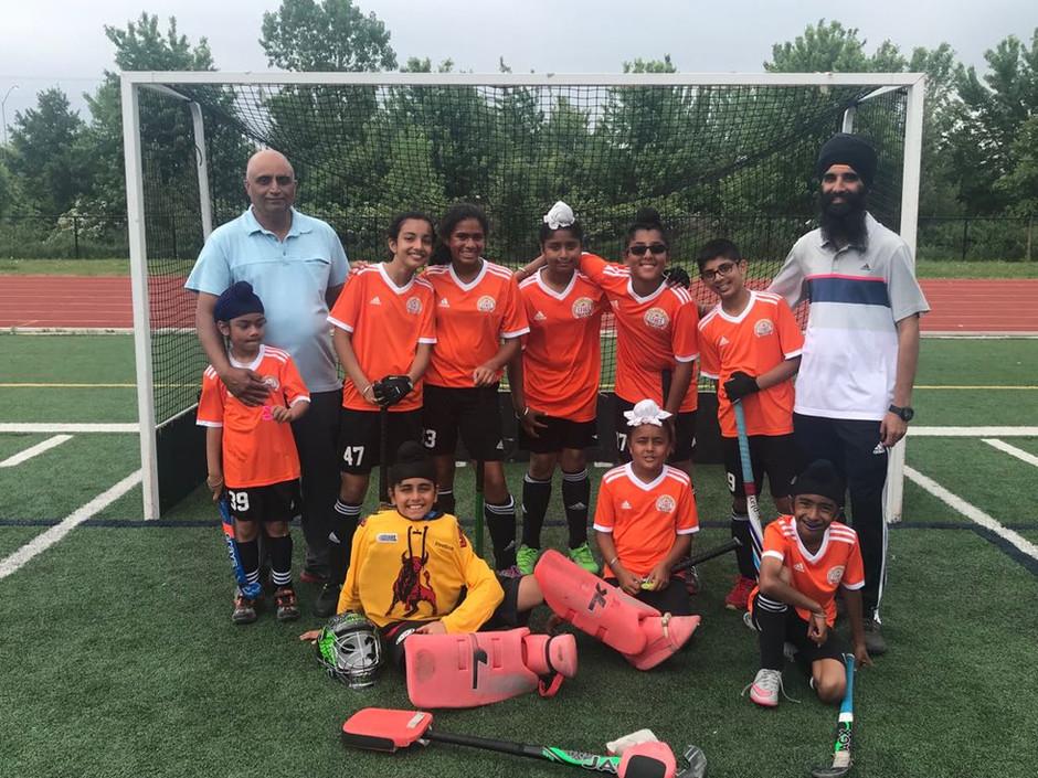 U12 Team @ the Halton Junior Tournament - June 2-3, 2018