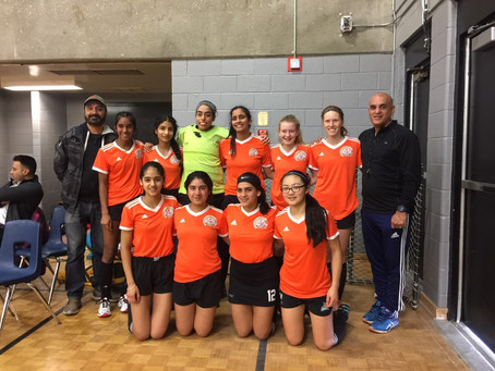 U-15 and U-18 Girls take second place at Scarborough Cup