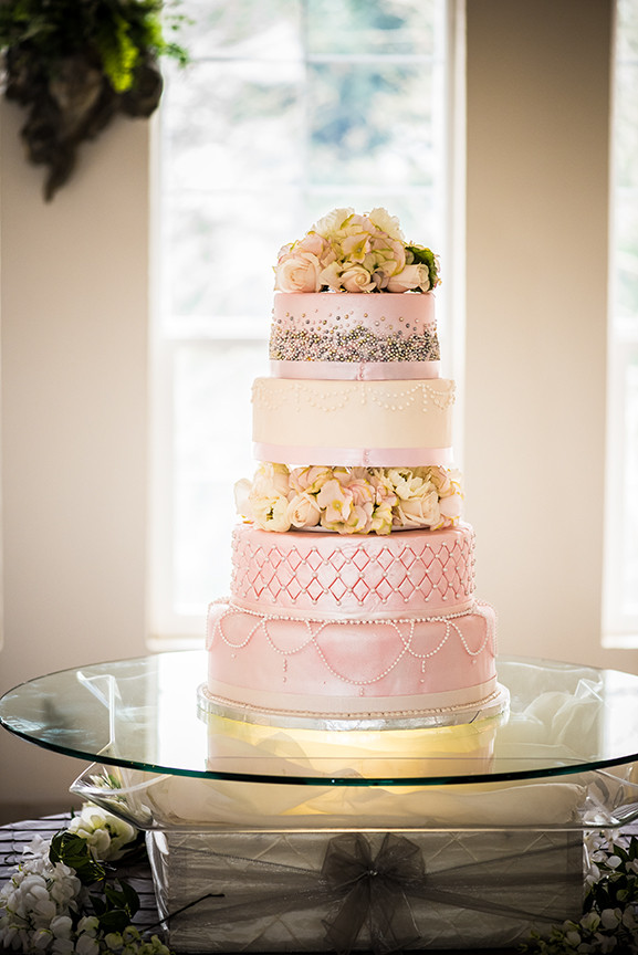 Empress Estate Elegant Wedding Cake by Chef Michael Truman, Photo by Jeff Allen of Orion's Eye Photography