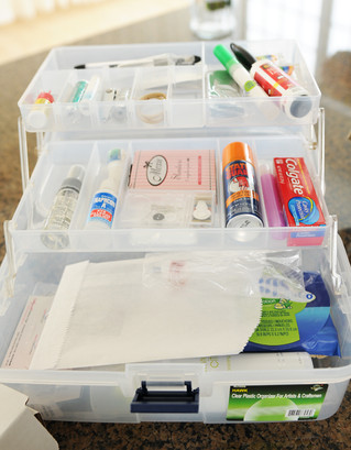 Let's Talk About Wedding Day Emergency Kits