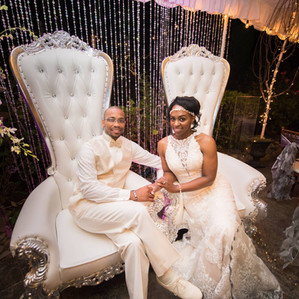A Radiantly Royal Wedding: Feature in Black Bride Magazine!