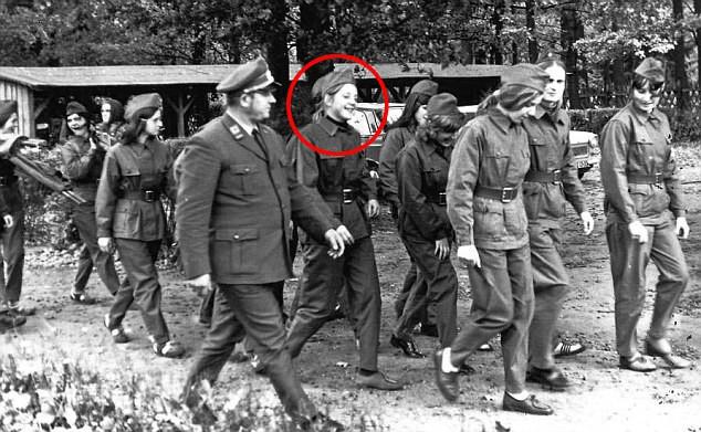 Merkel Rote Armee