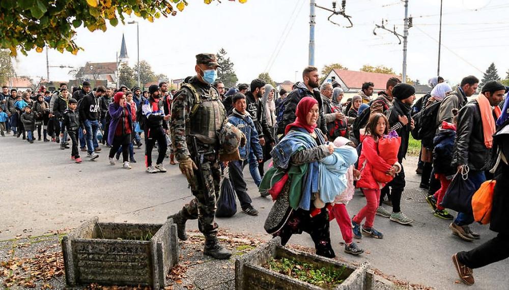 Syrien Flüchtlinge Migranten