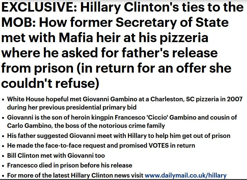 Hillary Clinton Mafia