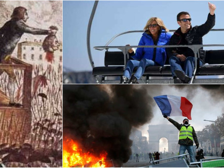 Frankreich im BÜRGERKRIEG - Macron erteilt SOLDATEN Erlaubnis scharf zu schiessen!