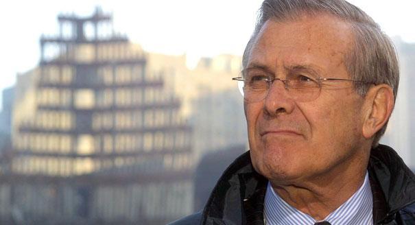Rumsfeld WTC 9/11 no planes