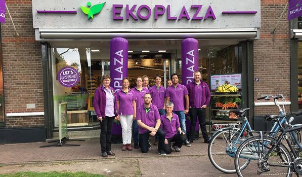 Ekoplaza Supermarkt ohne Plasti plastikfrei