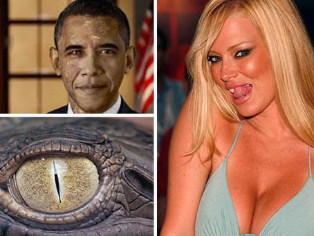 Mainstreammedien berichten ernsthaft über Reptilianer