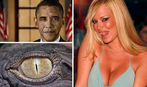 Reptilianer Reptiloide Drakos Drako Bush Queen