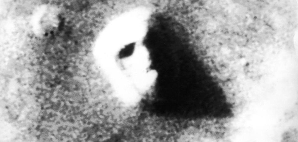 Mars Gesicht Sklavenkolonie