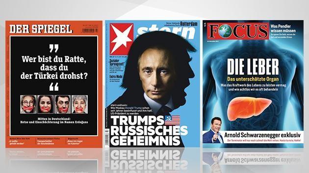 Leitmedien Mainsstream Medien Focus Stern Der Spiegel historisches Tief