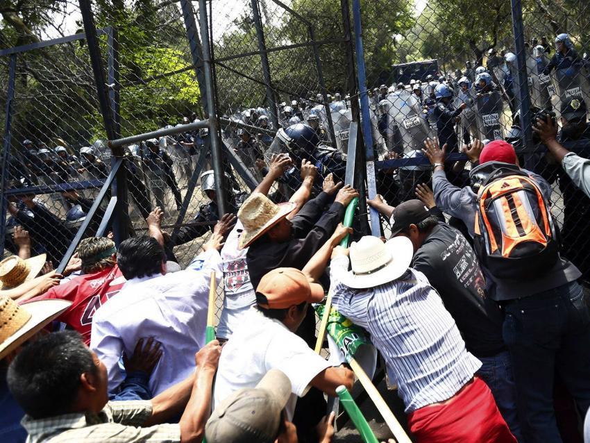 Wasserprotest Mexiko