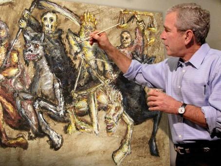 9/11 - Bush's okkultes Ritual mit den Kindern während des Anschlags