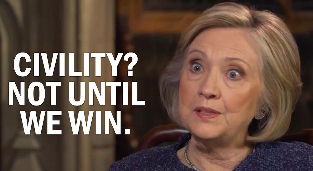 Hillary linker Mob