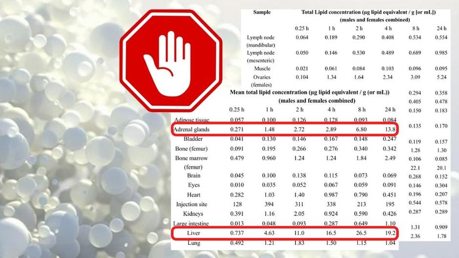Horror-Studie aus Japan: mRNA-Injektion verbreitet Lipid-Nanopartikel im ganzen Körper!