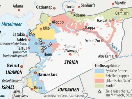 Syrienkrieg: Wissenschaftler und andere Experten klären auf