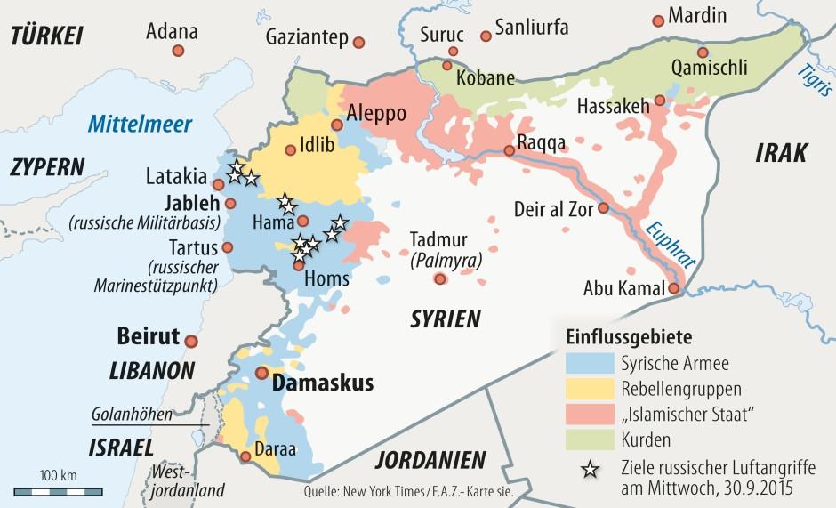 Syrienkrieg Wahrheit
