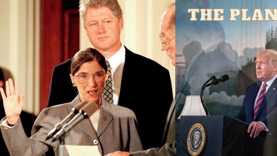 Ein Woche davor... Wusste Trump, dass Ruth Ginsburg demnächst offiziell für tot erklärt wird?