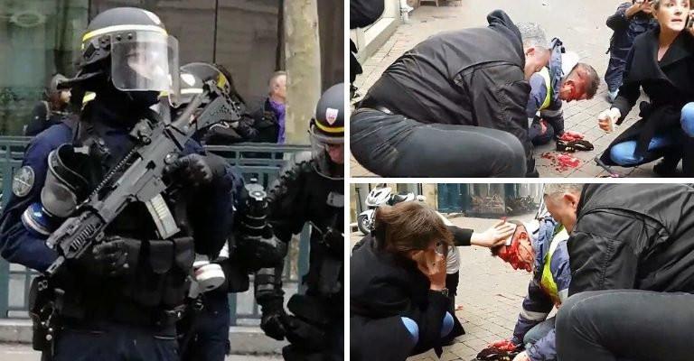 Gelbwesten Polizeigewalt