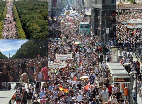 DEUTSCHLAND LEBT – Millionen Menschen protestieren gegen die CORONA-DIKTATUR !!!