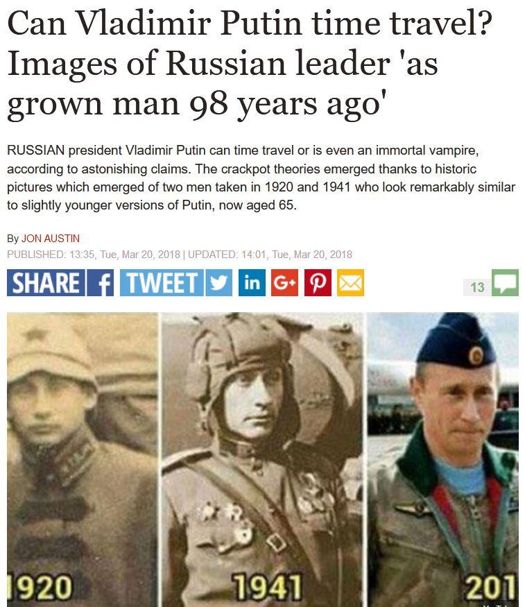 Putin Zeitreisen Legitim.ch