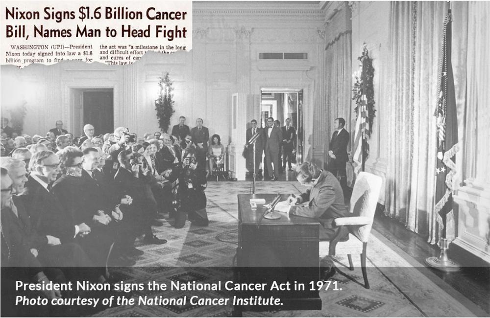 Nixon Cancer Act Krebs AIDS