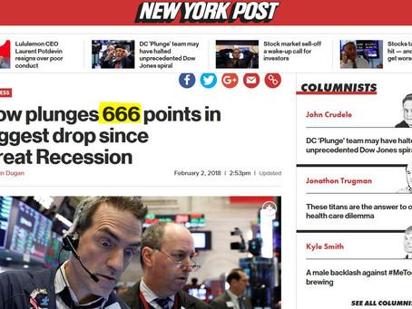 Börsen-Crash: MSM sprechen von 666 Punkte Crash - Zufall oder False Flag?