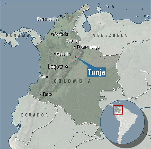 Tunja Kolumbien Hitler JFK Akte Flucht CIA Argentinien
