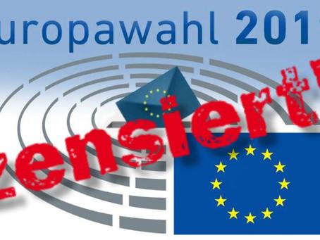 ZENSURWELLE vor EUROPAWAHL – Facebook sperrt 23 Seiten mit MILLIONEN Abonnenten!