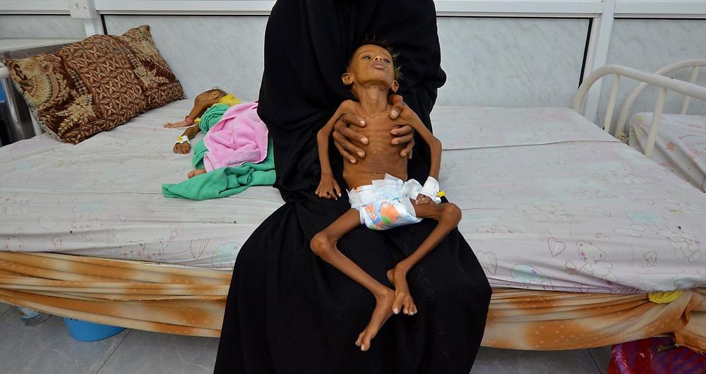 Jemen Merkel Macron