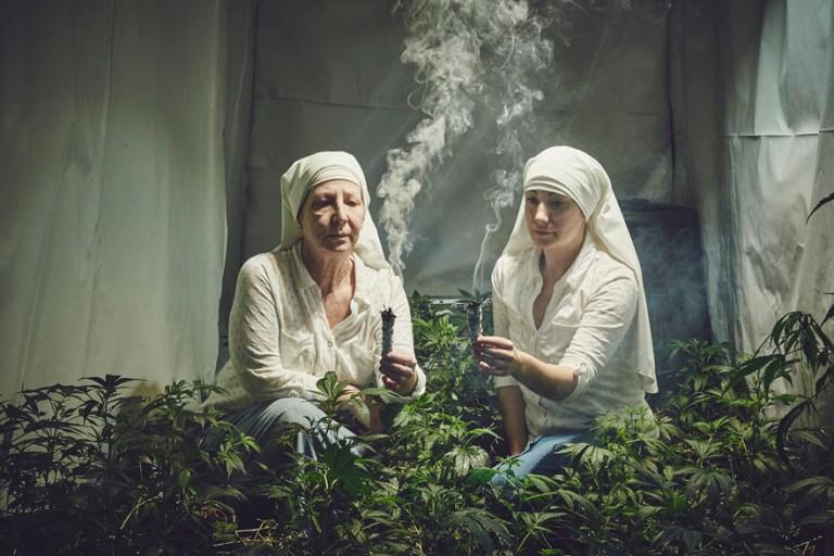 19 verblüffende Fotos von Nonnen, die Cannabis anbauen, um die Welt zu heilen