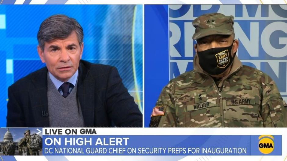 BRISANT: Chef der Nationalgarde enthüllt, warum die Truppen in Washington stationiert sind ...