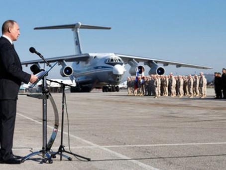 Wladimir Putin ordnet während Überraschungsbesuch in Syrien Abzug russischer Truppen an
