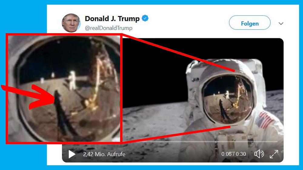 Trump Mondlandung Twitter