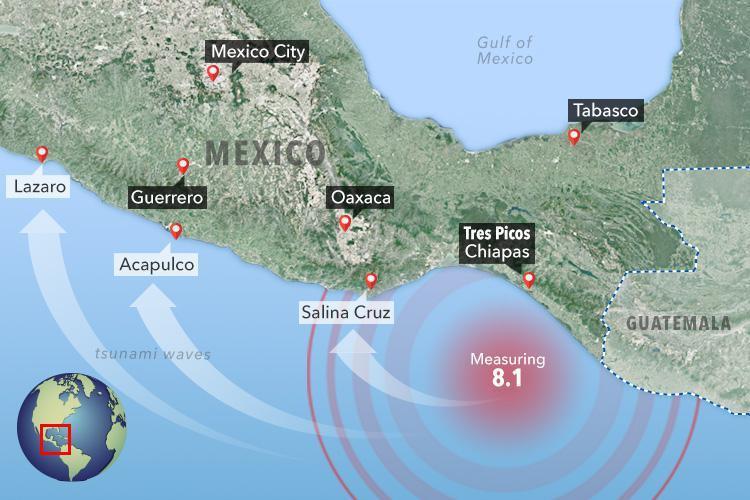 Mexiko Erdbeben