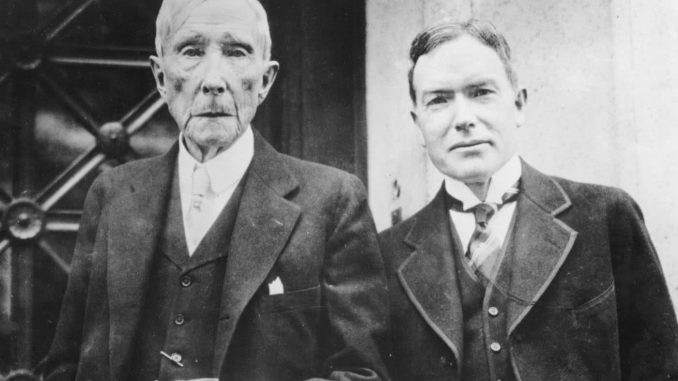 Dr Richard Day John D. Rockefeller