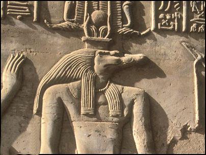 Sobek reptilianer ägypten reptiloid