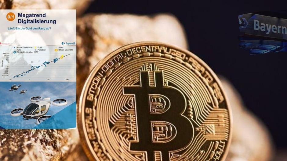 Bayerische Landesbank: Bitcoin wurde konzipiert, um noch härter als Gold zu sein!