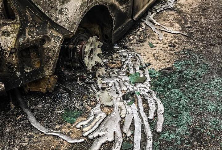 Griechenland Waldbrand DEW Energie Waffe