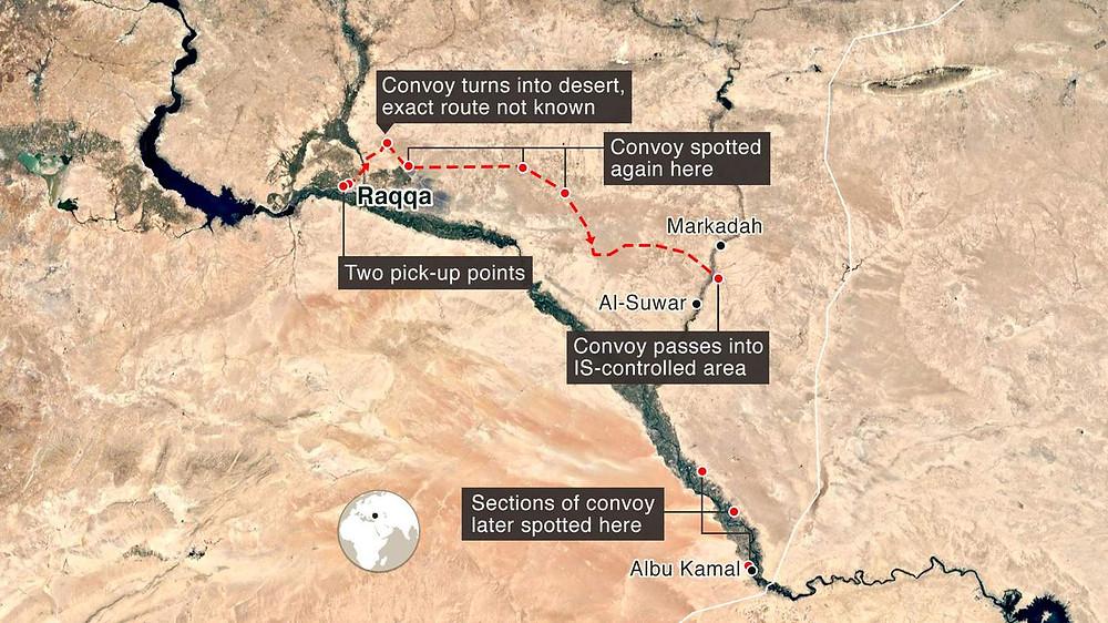 Raqqa Hillary BBC