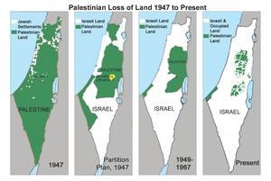 Palästina Invasion Audehnung Israel Zionismus