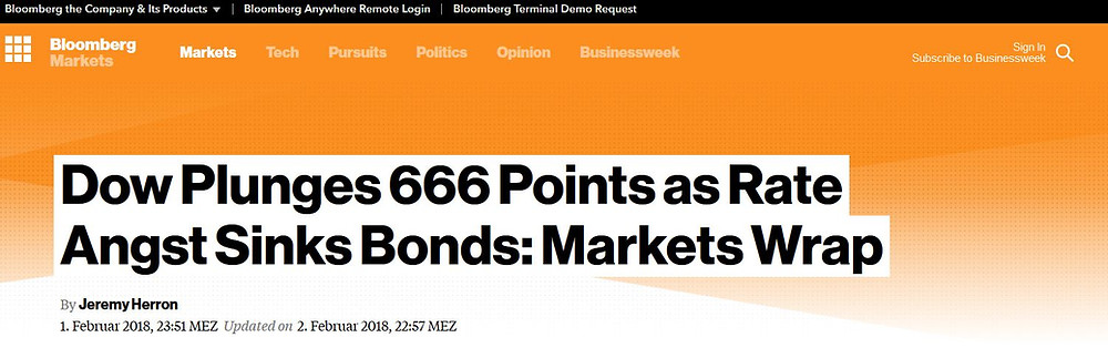 Bloomberg 666 Dow Flash Crash