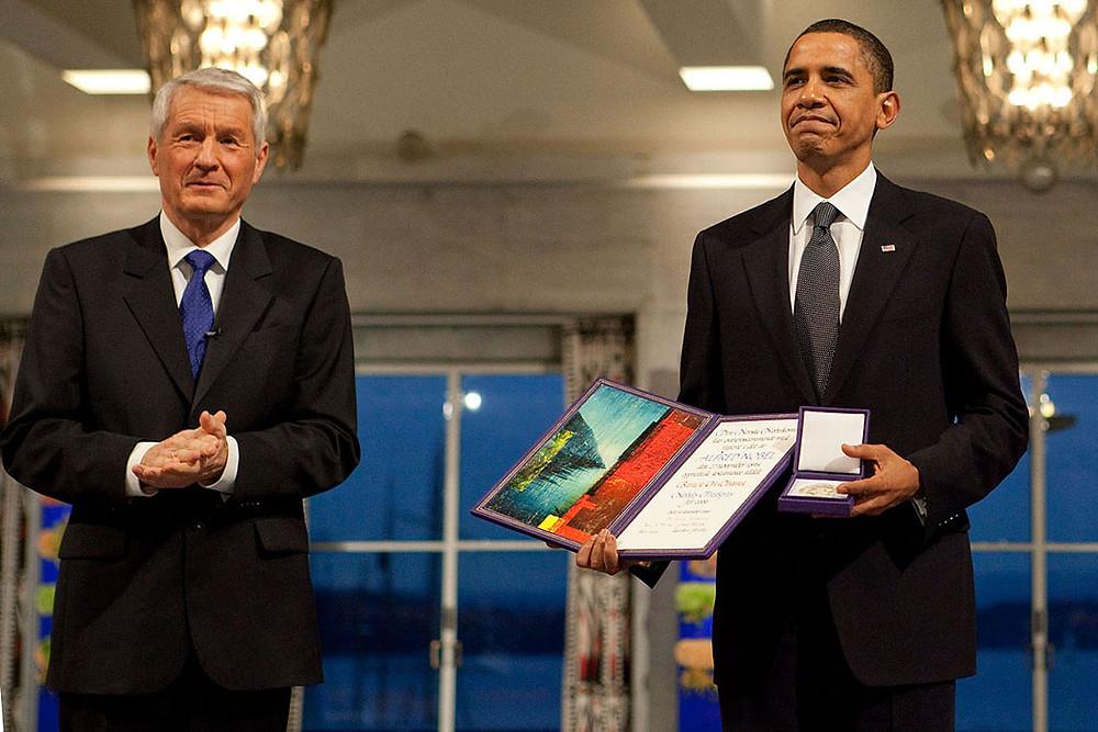Obama Illuminati Nobelpreis