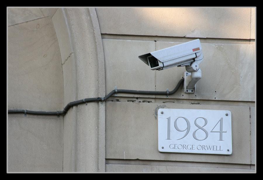 Orwell 1984 Überwachungskamera