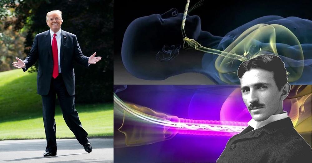 Tesla Trump UV-Therapie