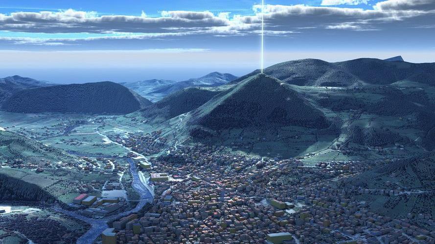 Pyramide Visoko Bosnien