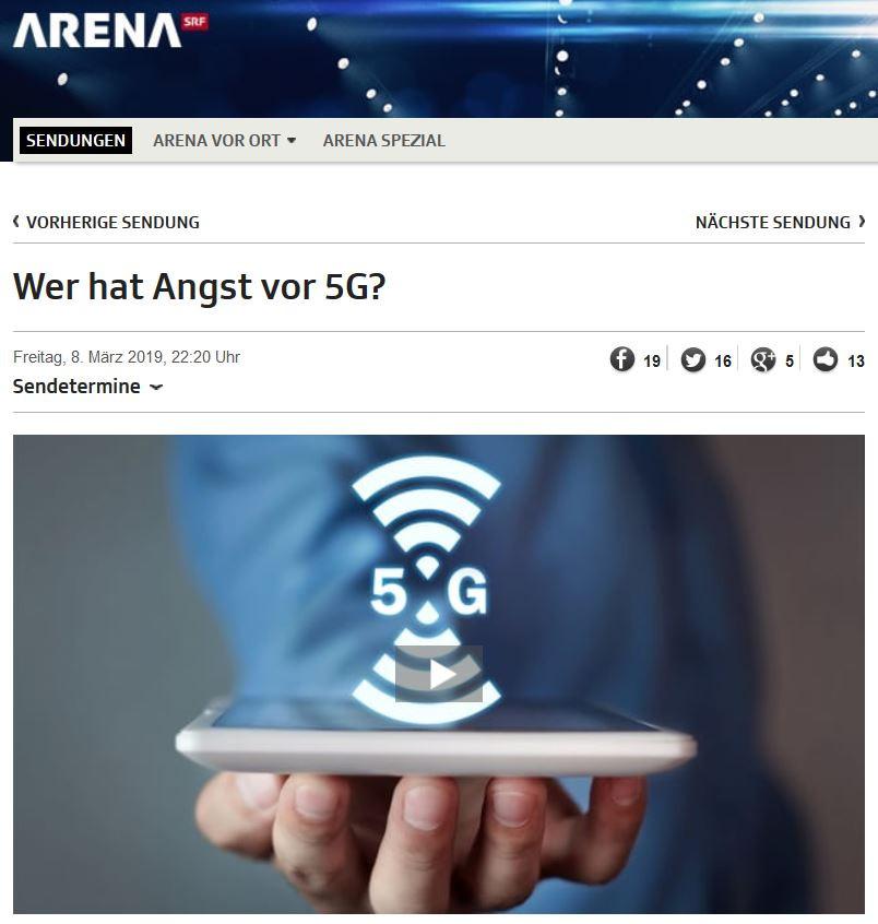 Arena 5G Legitim.ch