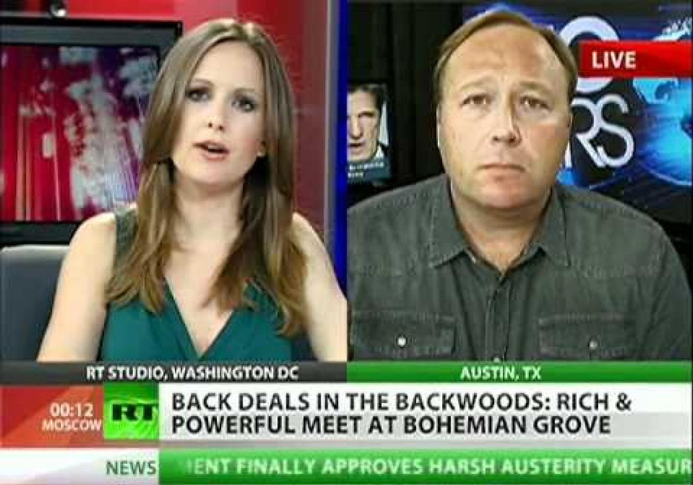 Alex Jones Bohemian Grove