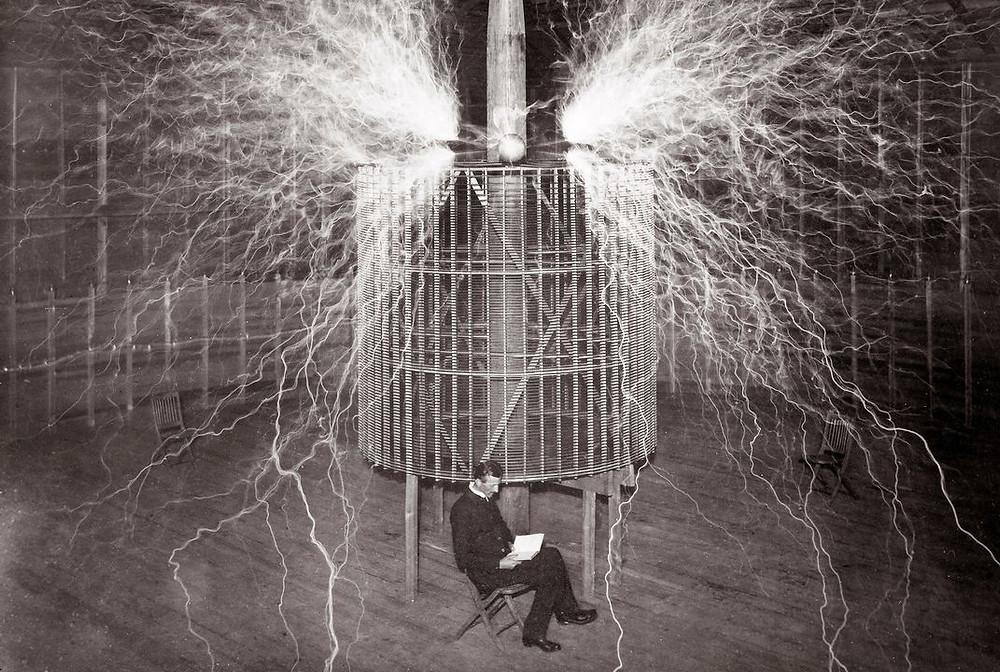 Nikola Tesla Freie Energie