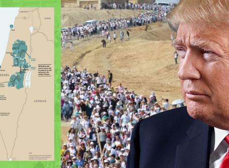 Tausende Israelis & Palästinenser marschieren für FRIEDEN ! Trump liefert eine Lösung ...